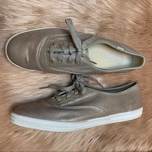 Keds Gold Canvas Fashion Sneakers Size 8